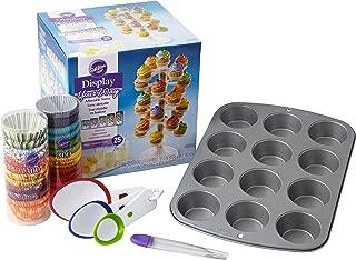 Wilton Make & Display Cupcakes Set, Cupcake Baking & Displaying Supplies