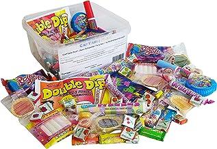 CAPTAIN PLAY | Retro Süßigkeiten Party Box | 1kg Kindheitserinnerungen