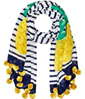 Kate Spade New York - Pineapple Stripe Oblong