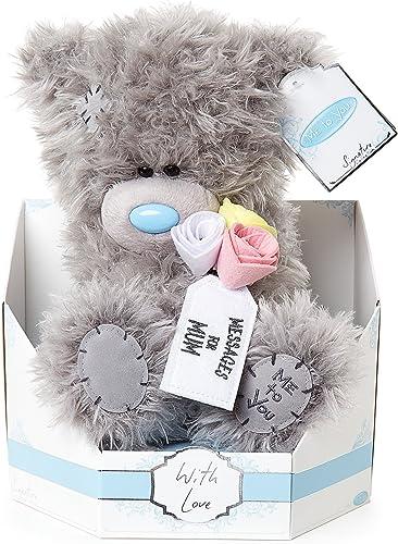 Me to You sg01 103 Zoll hoch Tatty Teddy Signature Collection Botschaft für Mama B sitzt Plüsch Spielzeug
