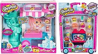 Shopkins Season 8 USA Hotdog Stand Playset and Pack of 12 Season 8 Americas World Vacation Toy