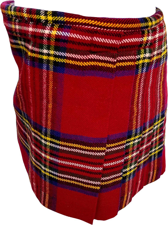 Clan Royal Stewart Tartan Kilt for Kids Boys and Girls. 100/% Acrylic Tartan Kilt of Childrens