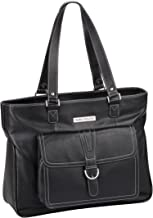 Clark & Mayfield Stafford Pro Leather Laptop Tote 17.3