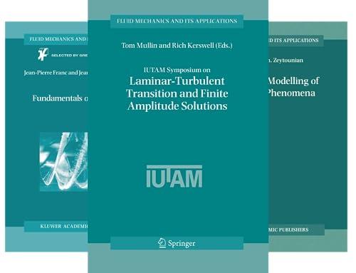 Fluid Mechanics and Its Applications (50 Book Series)