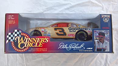 Winner's Circle - Nascar 50th Anniversary - Dale Earnhardt - 1:24 Scale High Performance Die Cast Collectible - Chevrolet Monte Carlo #3 (Metalflake Gold) Replica