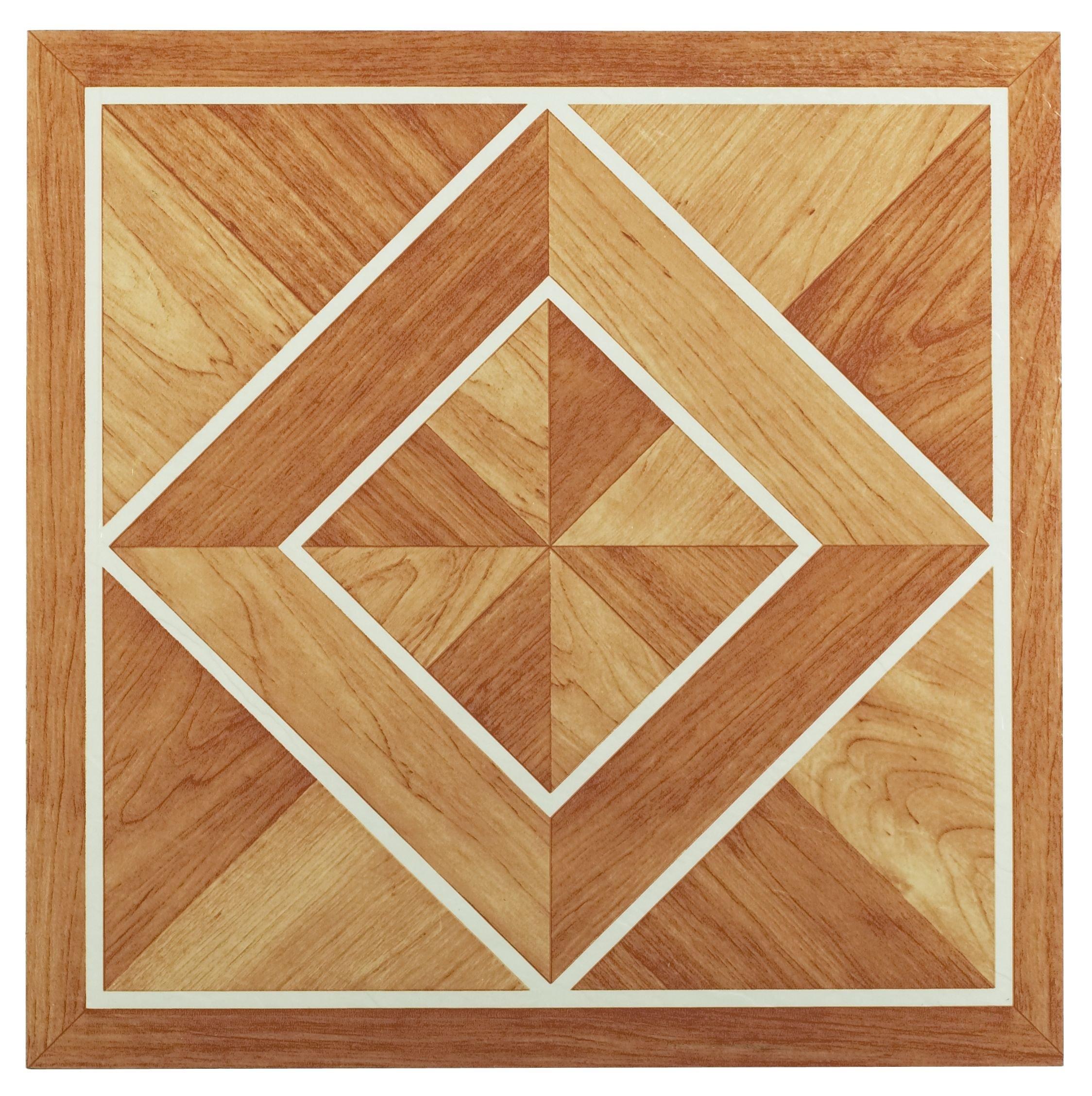 Achim Home Furnishings FTVGM32620 Nexus 12-Inch Vinyl Tile Geo Rustic Slate 20