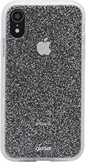 Sonix Silver Glitter Case for iPhone XR [Military Drop Test Certified] Protective Clear Case for Apple iPhone XR, Silver