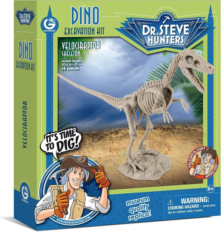 Regular discount Geoworld Dr. Steve Hunters - Dino Velocirap Dig Now on sale Excavation Kit