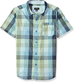 Buffalo by David Bitton Boys Little Tekka Short Sleeve Tee Shirt