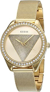 GUESS Womens Quartz Watch, Analog Display and Stainless Steel Strap - W1142L2