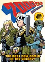 2000AD Regened: A thrill-powered comics collection for Earthlets of all ages!