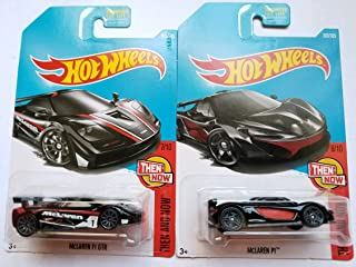 Hot Wheels Mattel 2017 Then And Now Series - McLaren F1 GTR & McLaren P1