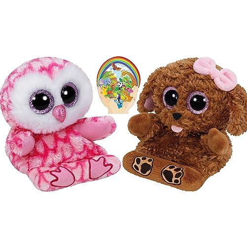 02fe7b637bc Ty Beanie Peek-a-Boos Dog ZELDA and Owl MILLY Set of 2 Smartphone