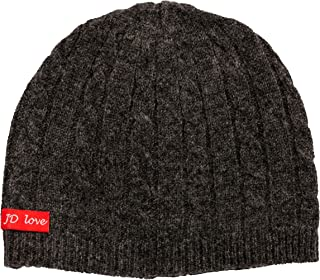 Mongolian Cashmere Wool Beanie Hat JD Love Women's Mongolian Luxurious 9X 7.5 Grey