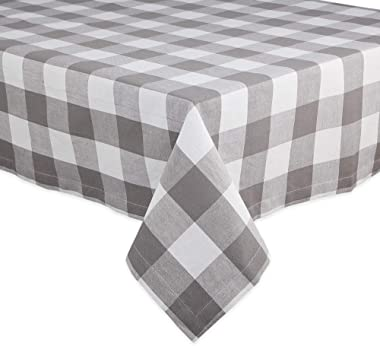DII Classic Buffalo Check Tabletop Collection for Family Dinners, Special Occasions, Barbeques, Picnics and Everyday Use, 100