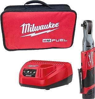 Milwaukee Brushless Ratchet Wrench 12 V 1 Bat 2.0 Ah M12FIR38-201B