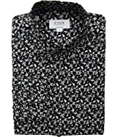 Eton - Slim Fit Fox Print Button Down Shirt