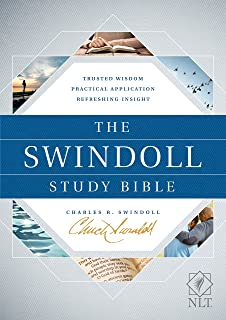 The Swindoll Study Bible NLT (Hardcover)