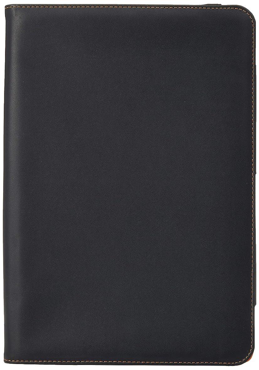 抱擁受ける二レイ?アウト HP ElitePad 900用 フラップタイプ?レザー?ジャケット(合皮タイプ) RT-EP900LC1/B