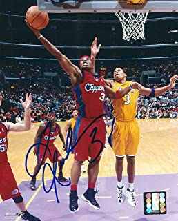 JSA Authentic Austin Rivers Autograph 11x14 Los Angeles Clippers Red Road Photo
