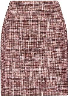 Hugo Boss Luxury Fashion Womens 50412983964 Red Skirt | Fall Winter 19