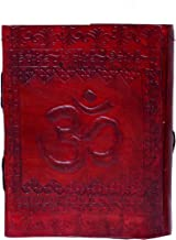 "Purpledip Leather Diary/Journal/Decorative Notebook""Om - The Spiritual Incantation"" With Naturally Treated Paper For Corporate Gift or Personal Memoir (10445)"