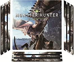 Monster Hunter World MHW Game Skin for Sony Playstation 4 Pro - PS4 Pro Console - 100% Satisfaction Guarantee!