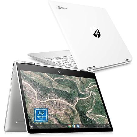 Google Chromebook HP ノートパソコン インテル® Pentium 4GB 64GB eMMC 12インチ ブライトビュー・IPSタッチディスプレイ 2in1 コンバーチブルタイプ 日本語キーボード HP Chromebook x360 12b (型番:1W4Z4PA-AAAB)