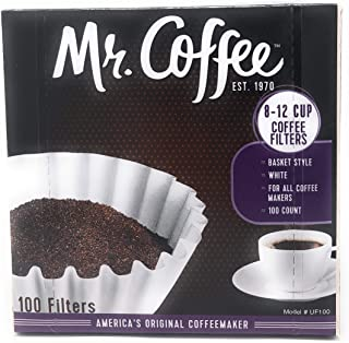 Mr. Coffee Coffee Filter 100 Filters, 395g - Pack of 1