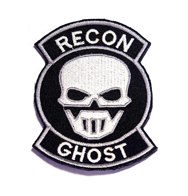 AstroG @ BP24 Ghost Recon Embroidered Morale Patch 9.5X7 cm for Sew-on Only