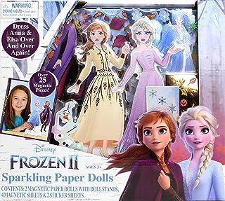 Frozen II Sparkling Paper Dolls