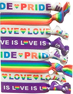 Best rainbow hair tie Reviews