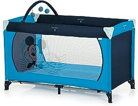 Hauck Dream'n Play - Cuna de viaje, 60 x 120 cm, V-Mickey Blue II