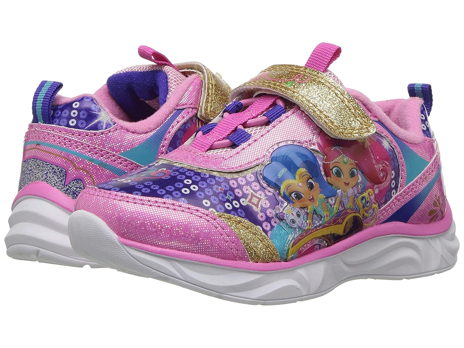 Josmo Lighted Kids Shimmer & Shine Lighted Josmo Sneaker (Toddler/Little Kid) 43566d