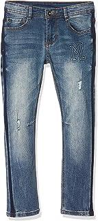 MEK Pantalone Denim Elasticizzato Moda Jeans para Niños