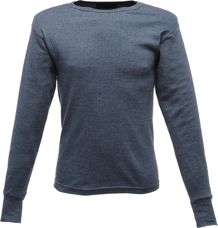 Regatta Thermal Underwear Long Sleeve Vest/Top (L) (Denim Blue)
