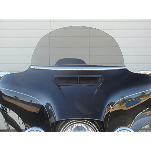 "Light Smoke 5/"" Windscreen Windshield For Harley Touring Tri Electra Street Glide"