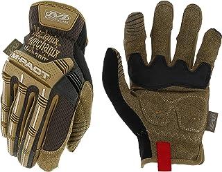 Mechanix Wear: M-Pact Open Cuff Work Gloves (Large, Brown)
