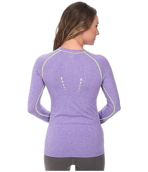 Footlocker Finishline Cheap Price Zensah Run Seamless Long Sleeve Shirt Heather Purple Free Shipping Best Sale Explore Shipping Discount Sale GdjEj