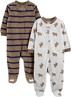 Simple Joys by Carter's Baby Boys 2 unidades de forro polar para dormir y jugar