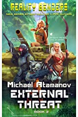 External Threat (Reality Benders Book #2) LitRPG Series (English Edition) Format Kindle