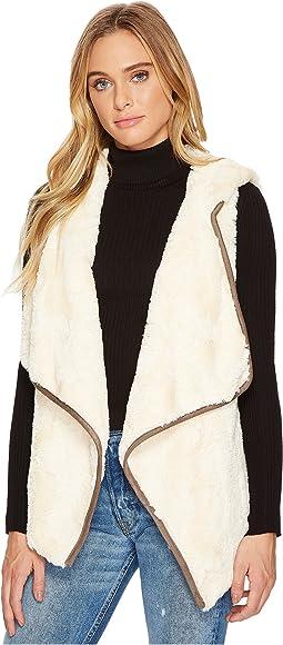 Jack by BB Dakota - June Wubby Vest with Faux Suede Binding
