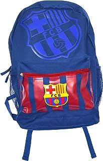 FC Barcelona backpack school mochila bookbag cinch shoe bag official (Blue)