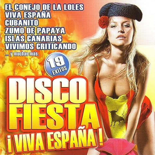 Disco Fiesta ¡Viva España! de Varios Artistas en Amazon Music ...