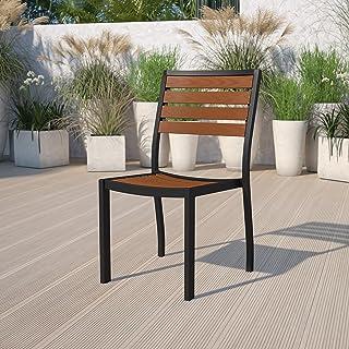 Flash Furniture XU-DG-10456033-GG Teak Patio Table