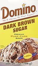 Domino Pure Cane Dark Brown Sugar 1lb