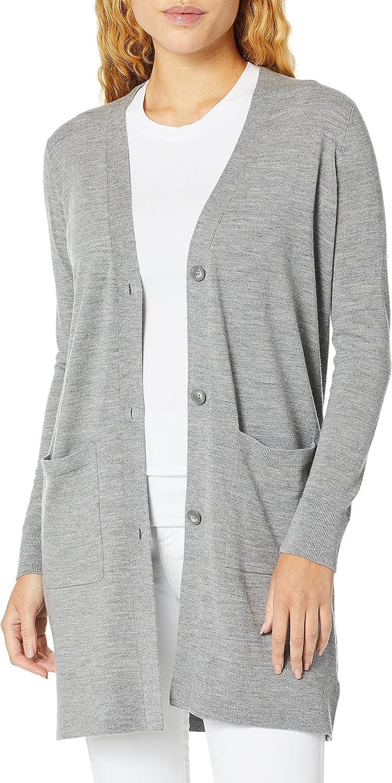 Pendleton Women's Merino Long Cardigan Sweater