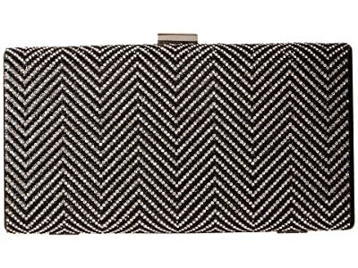 Nina Laken (Black/Silver 1) Clutch Handbags