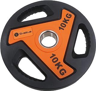 Sveltus 3812Disco para Barra Unisex, Naranja/Negro, 10kg