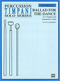 Ballad for the Dance - 4 Timpani & Suspended Cymbal - Book
